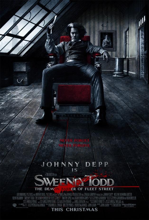 Sweeney Todd Film Poster