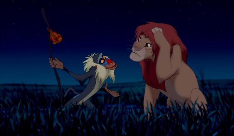 Rafiki & Simba