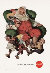 Sundblom-Santa-with-elves
