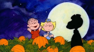 Snoopy Rises Out of the Pumpkin Patch